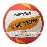 De la calidad voleibol inusual superior del juego firmemente