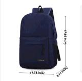 Sac à main de sac à dos de cartable de course de sac à dos de sac d'école d'épaule de toile d'hommes de femmes