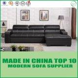 Base di sofà di cuoio reale di svago domestico moderno della mobilia