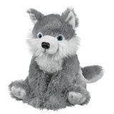 Brinquedo feito sob encomenda enchido do luxuoso do lobo