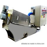 De Ontwaterende Machine van de dunne modder om de Behandeling van het Water van het Afval Af te drukken en Te verven