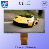 Résolution de 7 pouces 800 X 480 Haute luminosité TFT tactile tactile capacitif