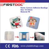 Aide de bande adhésive de bandage de premiers soins de bandage de plâtre du bandage 38*38mm de dessin animé imperméable à l'eau