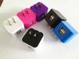 Nous chargeur de téléphone cellulaire de fiche avec 2 USB duel