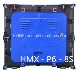 Schermo esterno della visualizzazione di LED di colore completo di SMD P6 HD