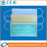 Maschera di protezione non tessuta a gettare chirurgica