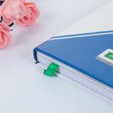 Cahier de livre À couverture dure avec la bande élastique