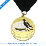 도매는 금속 사기질 포상 금메달을 주문을 받아서 만들었다