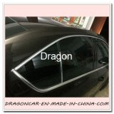 Protecteur flexible de bande rebord de garniture de PVC Chrom de DIY pour la décoration de guichet de véhicule
