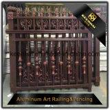2017 nuovi prodotti hanno personalizzato il giardino di alluminio usato del ferro saldato che recinta per la vendita
