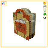 Kundenspezifisches Kinder Boardbook im Offsetverfahren Drucken-preiswerter Preis