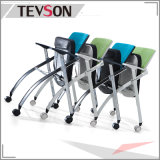 学校、ライブラリ、実験室またはオフィスのためのタブレットが付いている折られたトレーニングの会議の椅子