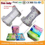 Absorvência super e tecido respirável do bebê de Clothlike Backsheet