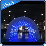 Tunnel gonflables géants pour mariage partie d'utiliser, tunnel de l'événement gonflable avec voyants