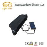 Вниз тип батарея пробки лития Bike Electrc с внутренне BMS