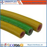 """1 """" boyau jaune de jet de PVC de technologie de la Corée pour l'agriculture/mien"""
