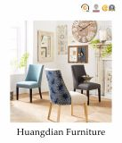 Cadeira de jantar feita sob encomenda da cor da tela 2 da liga da mobília do café (HD701)