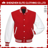 Commerce de gros Broderie coton Varsity Jacket Hommes (ELTBQJ-531)