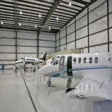 Niedrige Kosten-vorfabrizierter heller Stahlkonstruktion-Flughafen-Hangar