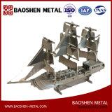 Oficina del metal del barco/de la nave/exposición pasillo/regalo/arte casero del acero inoxidable de la decoración