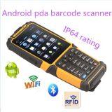 Móbil sem fio áspero PDA Ts-901 com o varredor do código de barras do laser