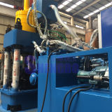 Máquina da ladrilhagem da folha do ferro de sucata com a rendimento elevado
