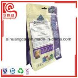 Hundeverpacken- der LebensmittelAluminiumfolie-Fastfood- mit Reißverschlussplastikbeutel