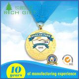 Medaglia in lega di zinco di sport del premio dell'oro dei mestieri su ordinazione del metallo di disegno