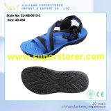 Самые последние сандалии людей ЕВА обуви типа с верхушкой ткани крюка & петли
