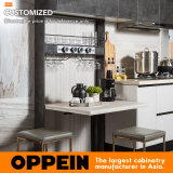 Oppeinの積層および紫外線ラッカー直線台所家具の食器棚(PLCC17017)