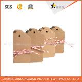 Het Kledingstuk van de Manier van de douane hangt Markering met Beste Prijs
