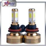 Super heller H7 Scheinwerfer 60W des Auto-LED PFEILER mit Licht des Ventilator-Auto-LED für Selbstscheinwerfer der ersatzteil-H4