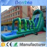 Corrediça de água inflável da venda quente grande para miúdos e adulto