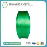 PP Multifilamento Verde FDY Hilo 1500d con alta tenacidad