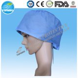 医学的用途のための使い捨て可能なNonwoven Bouffant帽子