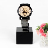 Étalage acrylique noir de bracelet de montre, étalage de bijou