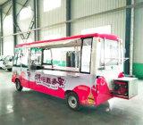 Carro elétrico do fast food, caminhão elétrico do fast food