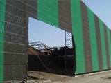 Gemaakt in de Brekende Muur van het Stof van China