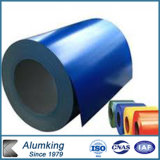 De kleur Met een laag bedekte Gipspleister In reliëf gemaakte Rol van het Aluminium/van het Aluminium voor Dakwerk