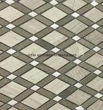 Nuovo mosaico della pietra del marmo del materiale da costruzione di disegno di Foshan Cina (VMM3S006)