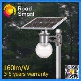 Risparmio di energia tutto in una lampada solare di notte della parete del giardino della strada della via