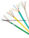 LAN van de Prijs SFTP van de fabriek CAT6 Kabel met Al Tc Vlechten en CCA van het Koper Leider