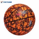 Напечатанный таможней баскетбол улицы синтетический кожаный