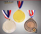 昇進のギフトの記念品のカスタムバッジの金属のスポーツ賞の金メダル