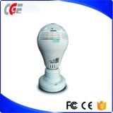 Produits de surveillance WiFi sans fil lampe de feu de la caméra fisheye de surveiller la caméra IP caméra lumière