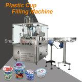 알루미늄 호일을%s 가진 주스 컵 밀봉 기계