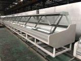 Système de boucherie de supermarché utilisé par réfrigérateur d'étalage de viande de Xuzhou