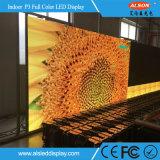 Pared móvil a todo color de interior del vídeo de la buena calidad P3 LED