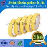 Adhesivo de alta cinta de enmascarar de papel crepé para fines industriales