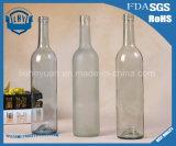 frasco de vidro de primeira qualidade sem chumbo transparente de vinho 750ml vermelho